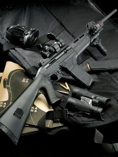 Benelli MR1 assault rifle