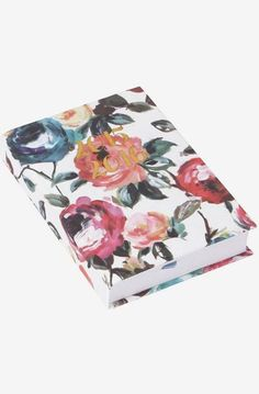 Peonies casebound A6 day to a page 2015/16 diary
