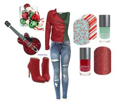 """Guess the Christmas Song - Jamberry Nails Game"" by kspantongroup on Polyvore featuring Judith Leiber, American Vintage and Holiday Lane"