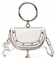 [€ In de mode/Delicaat/Verfijnd/Mooi Crossbody Tassen - VeryVoga Fall Handbags, Hermes Handbags, Handbags On Sale, Luxury Handbags, Louis Vuitton Handbags, Purses And Handbags, Cheap Purses, White Handbag, White Purses