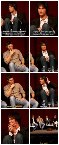 [gifset] Jared's acting coach and Jensen