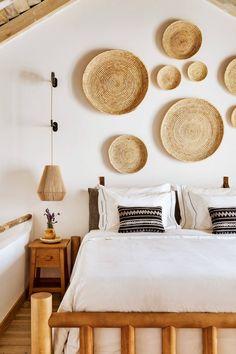 Quinta da Comporta Deco Surf, Hotels Portugal, Bungalow Interiors, Hotel Room Design, Best Boutique Hotels, Small Luxury Hotels, Surf Shack, Rattan Furniture, Interior Decorating
