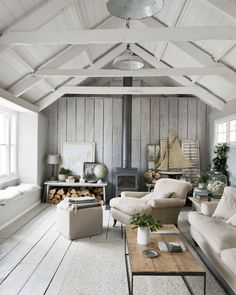 We interview chalk paint queen Annie Sloan & preview her fab new book. annie-sloan-chalk-paint-scandi-log-fire-cosy-home