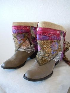 Pink   Boho Accents, Ankle Art, Boho Boot Accents -  www.bohoaccents.com