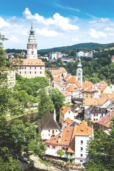 A Guide to Cesky Krumlov Lake Camping, Camping Places, Day Trips From Prague, World Of Wanderlust, Europe, Amazing Destinations, Czech Republic, Beautiful Landscapes, Places To See