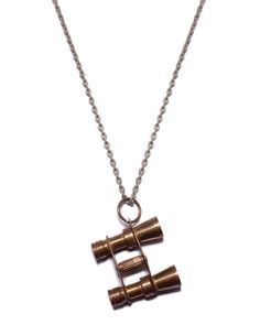 Vintage Binoculars Necklace
