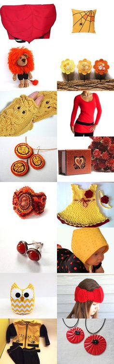 Colorful autumn by Katica on Etsy--Pinned with TreasuryPin.com