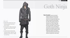 Aliennnation : 10. 1 black magic DIY series goth ninja part 1: hooded infinity fringe scarf