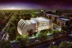 Moshe Safdie: Music Conservatorium at Monash University, Australia