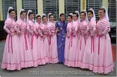 vestidos de prenda - invernada artistica - tradicionalismo gaúcho
