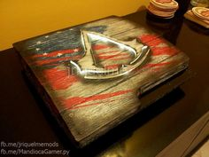 Assassin's Creed 3 Styled PS3 Slim Mod
