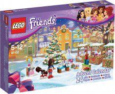 LEGO Friends Advent Calendar 41102 is super fun for LEGO Friends fans at Christmas time. 24 LEGO Friends minifigures in an Advent Calendar Lego City Advent Calendar, Advent Calendar Gifts, Advent Calenders, Cheap Lego, Lego Friends Sets, Friends Girls, Lego Gifts, 233, Lego Construction