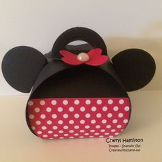 Create with Cheryl Minnie Mouse Box                                                                                                                                                      More