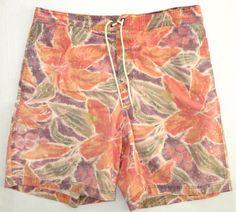4b01a2d451 Ralph Lauren RLX Swim Trunks Hawaiian Pastel Floral L #RalphLauren #Trunks  Pastel Floral,