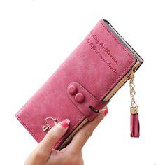 2016 mulheres de longo carteira de Multi   funcional guarda chuva com zíper carteira feminina 7 cores bolsa titular do cartão de embreagem de alta qualidade frete N532 em Carteiras de Bagagem & Bags no AliExpress.com | Alibaba Group
