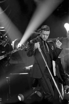#JustinTimberlake for his 20/20 Experience tour 2013 -- #BlackTie