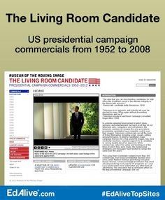 US Presidential Campaign Commercials From 1952 To 2008