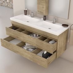 European Home Decor 2 Sink Vanity, Double Sink Vanity, Vanity Cabinet, Bath Cabinets, Mirror Cabinets, Floating Vanity, Floating Bathroom Vanities, Bathroom Sinks, European Home Decor