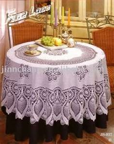 Crochet Pattern Central Free Tablecloth Crochet Pattern Link