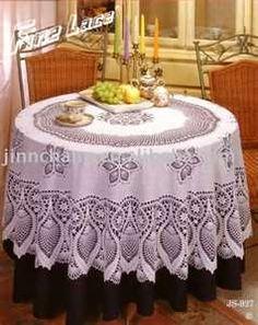 Crochet Pattern Central Free Tablecloth Crochet Pattern Link