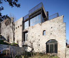 Restauro ruderi del Castello Abbaziale di SantAmbrogio di Torino, Sant'Ambrogio di Torino, 2007 - LSB architetti associati