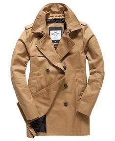 Superdry Premium Indiana Leather Svart, Dressinn Jackor