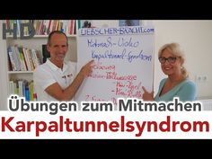 Karpaltunnelsyndrom // Übungen zum Mitmachen // Video in Mitmachlänge - YouTube