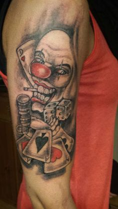 Clown Tattoo by Voelli