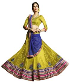£12.71 (Rs.1,150) from ftrendy. Would used YELLOW skirt. needs pink dupatta & top.  Code: SKU:FDDESIGNERLEHENGAD6303B