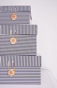 DIY shoe box makeover, by Mormorsglamour / Af Nord