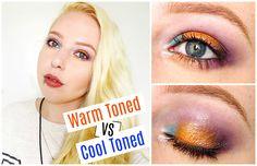 MOTD | Warm Toned vs Cool Toned Makeup Look. - Beauty-Blush