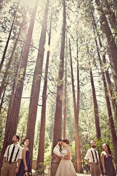 If I were to have my wedding in the great outdoors, I def need this pic.