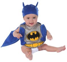 Batman Bib and Hat