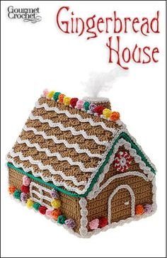 crochet gingerbread house!