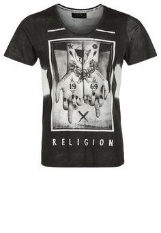 Religion Print T-shirt - black - Zalando.co.uk
