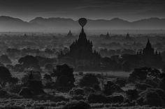Ballonflug Myanmar Reise - Bagan