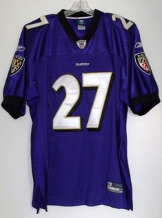 Baltimore Ravens Ray Rice 27 Authentic NFL Football Reebok Jersey Sz 48  43609ae28
