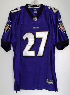 baltimore ravens ray rice 27 authentic nfl football reebok jersey sz 48 ebay