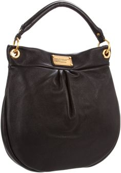Marc by Marc Jacobs Classic Q Hillier Hobo Bag Black