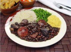 Delícias do Brasil. A feijoada é um dos pratos típicos da cozinha brasileira. Foto: Divulgação.