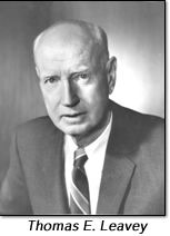Thomas E. Leavey '22, the co-founder of Farmers Insurance Group and the Thomas and Dorothy Leavey Foundation