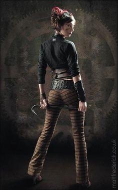 "steampunk-girl: ""Steampunk Girl """