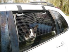 Breeze Guard Car Window Screens - prevent your dog from jumping out the car window when it's down
