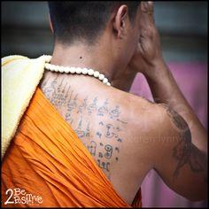 #SakYant - Thai Monk #Tattoo