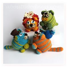 Amigurumi Crochet Cats: DIY Tutorial & Pattern.