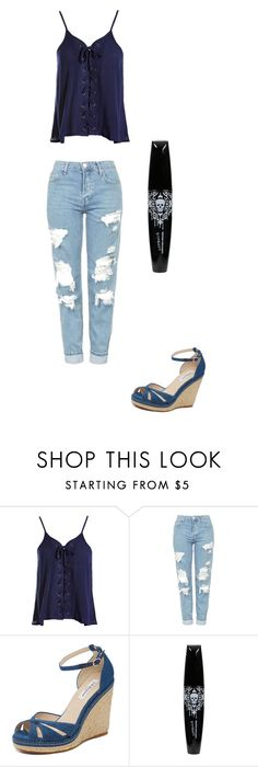 """Untitled #110"" by maritzar625 on Polyvore featuring Sans Souci, Topshop and L.K.Bennett"