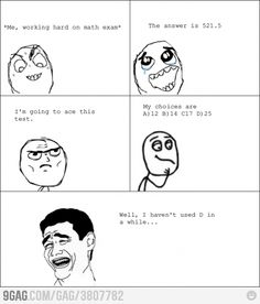 Every math exam