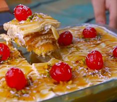 Greek Desserts, Pudding Desserts, Fruit Salad, Cereal, French Toast, Sweets, Cookies, Dishes, Breakfast