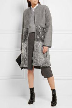Alexander McQueen Embellished silk scarf $865 Black silk 100% silk ...