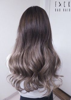40 goddess latest medium long hair style – Page 2 – Hairstyle Ashy Brown Hair, Ashy Hair, Ash Brown Ombre, Light Ash Brown, Haircut And Color, Hair Color And Cut, Hair Colour, Spring Hairstyles, Pretty Hairstyles